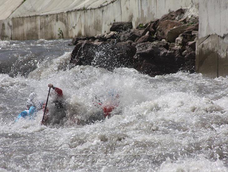 Соревнования по рафтингу в Адыгее 21