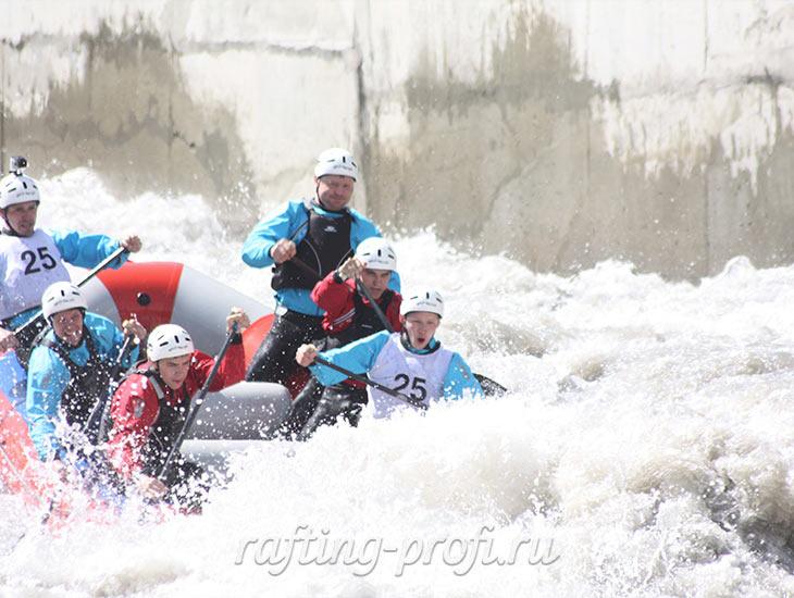 Соревнования по рафтингу в Адыгее 10