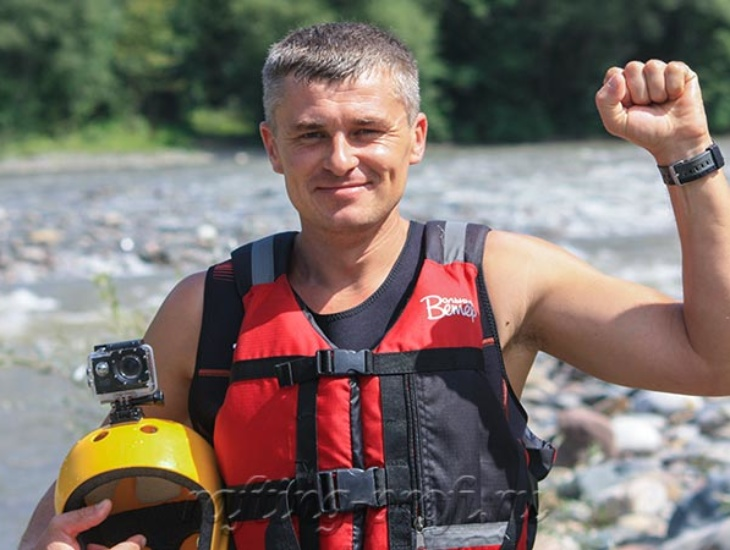 Сплав на байдарках в Краснодарском крае 11