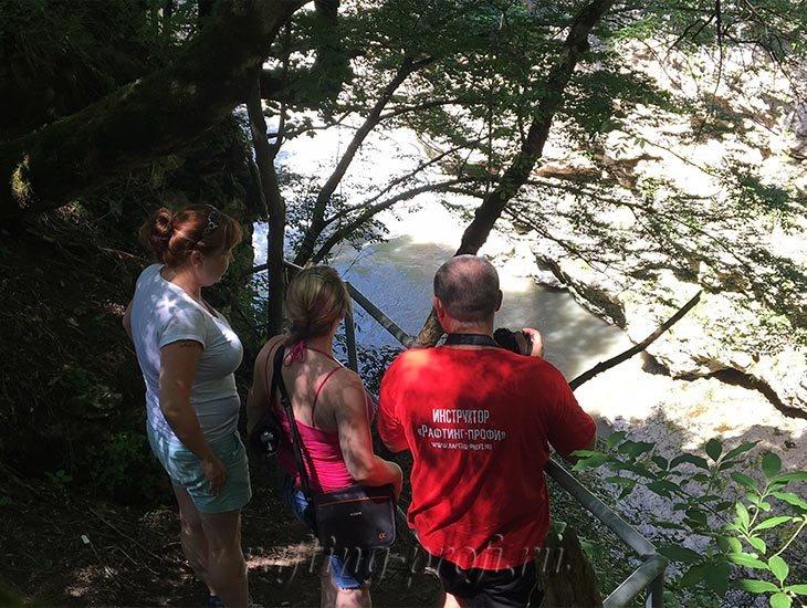 Водопады Ручья Руфабго 52