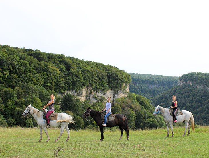Конные прогулки в горах Адыгеи 18