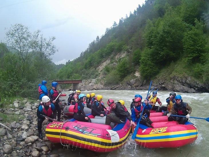 трехдневный рафт-тур по реке Кубань 41