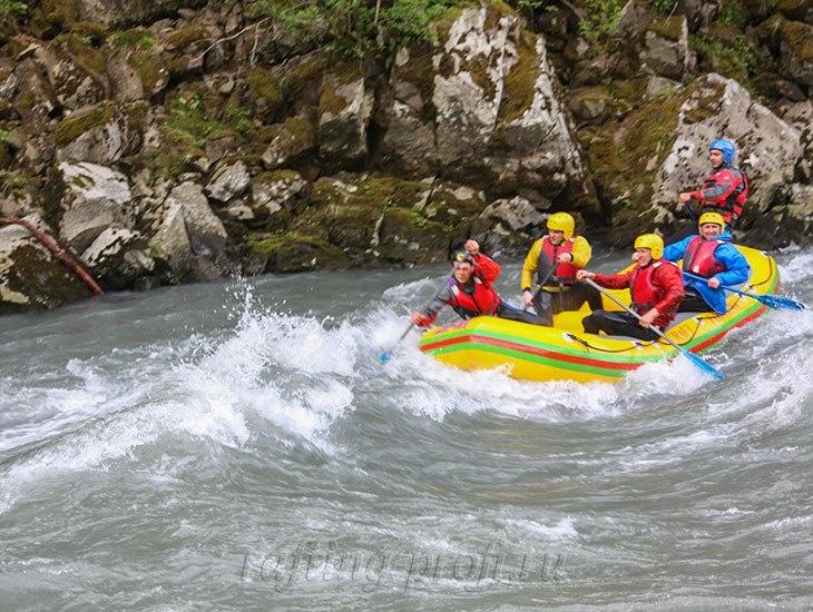 трехдневный рафт-тур по реке Кубань 36