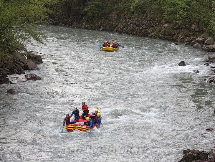 трехдневный рафт-тур по реке Кубань 33