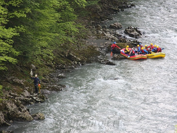 трехдневный рафт-тур по реке Кубань 28