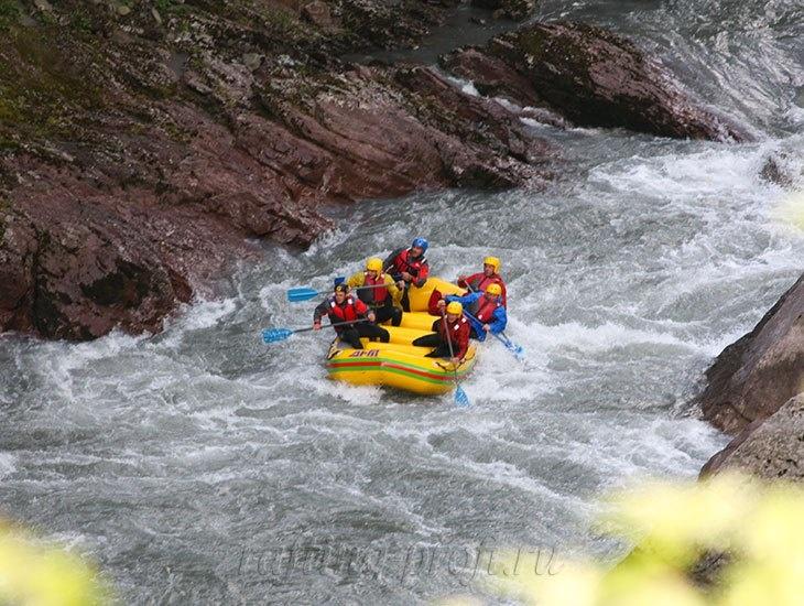 трехдневный рафт-тур по реке Кубань 15