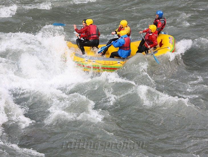 трехдневный рафт-тур по реке Кубань 20