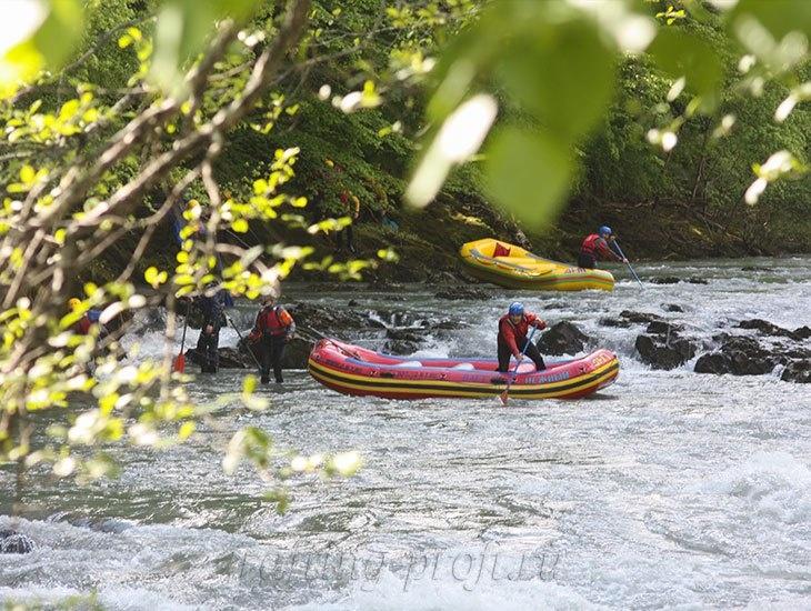 трехдневный рафт-тур по реке Кубань 14