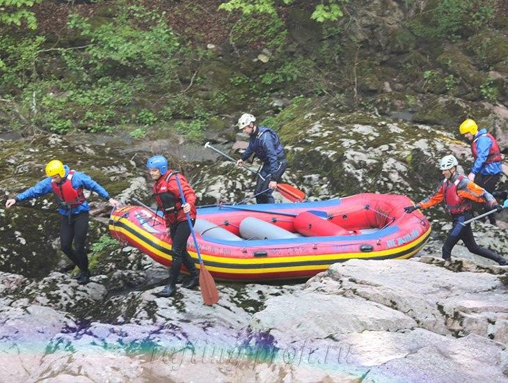 трехдневный рафт-тур по реке Кубань 13