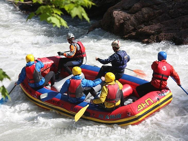 трехдневный рафт-тур по реке Кубань 10