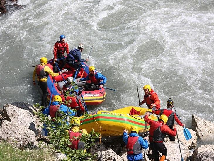 трехдневный рафт-тур по реке Кубань 6