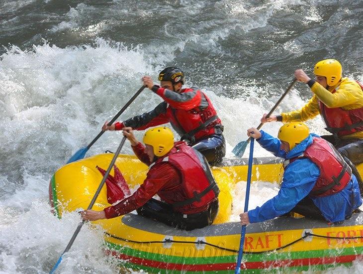 трехдневный рафт-тур по реке Кубань 2