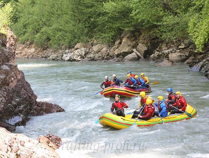 трехдневный рафт-тур по реке Кубань 1