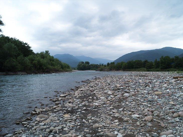 Рафтинг река Белая 13
