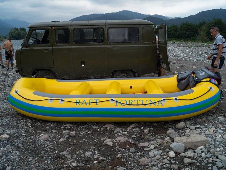 Рафтинг река Белая 10