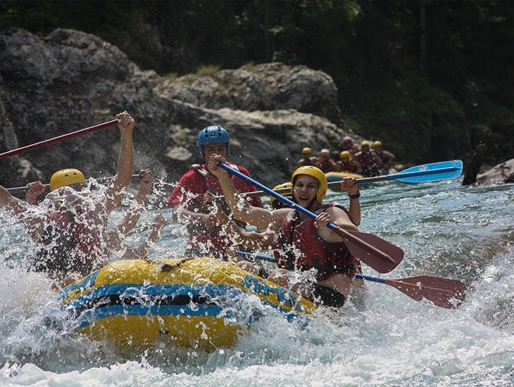 Рафтинг река Белая 3