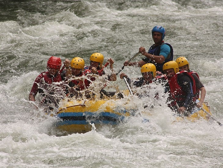 Рафтинг река Белая 29