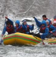Рафтинг Зимой По Реке Белой 35