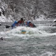 Рафтинг Зимой По Реке Белой 2