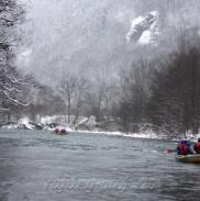 Рафтинг Зимой По Реке Белой 8