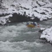 Рафтинг Зимой По Реке Белой 14