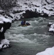 Рафтинг Зимой По Реке Белой 17
