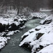 Рафтинг Зимой По Реке Белой 23