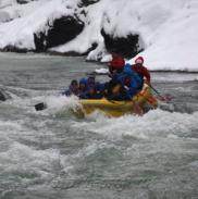 Рафтинг Зимой По Реке Белой 26