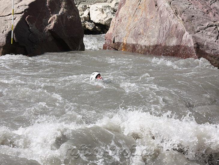 Соревнования по рафтингу в Адыгее 5