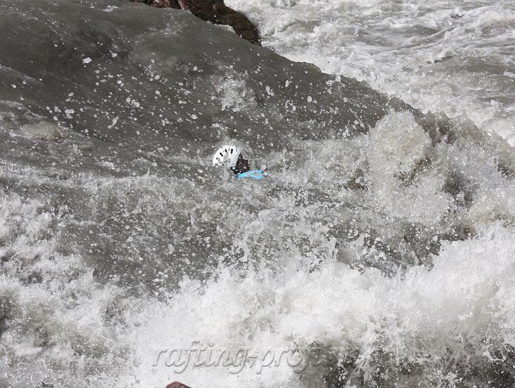 Соревнования по рафтингу в Адыгее 1