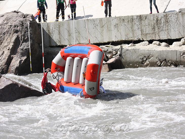 Соревнования по рафтингу в Адыгее 3