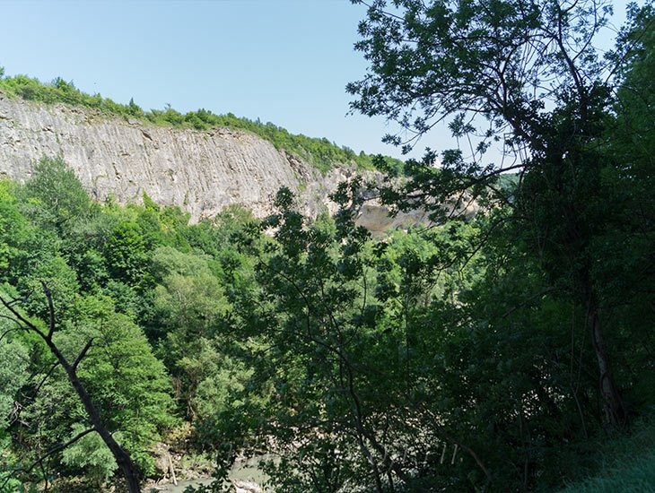 Водопады Ручья Руфабго 50