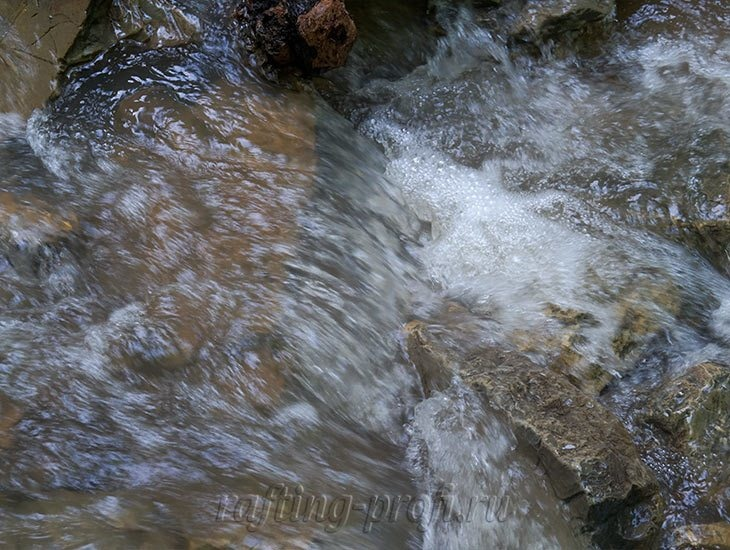 Водопады Ручья Руфабго 10