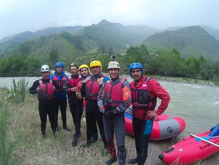 трехдневный рафт-тур по реке Кубань 40