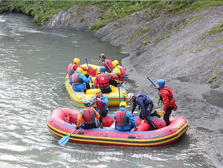 трехдневный рафт-тур по реке Кубань 39