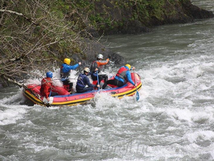 трехдневный рафт-тур по реке Кубань 34