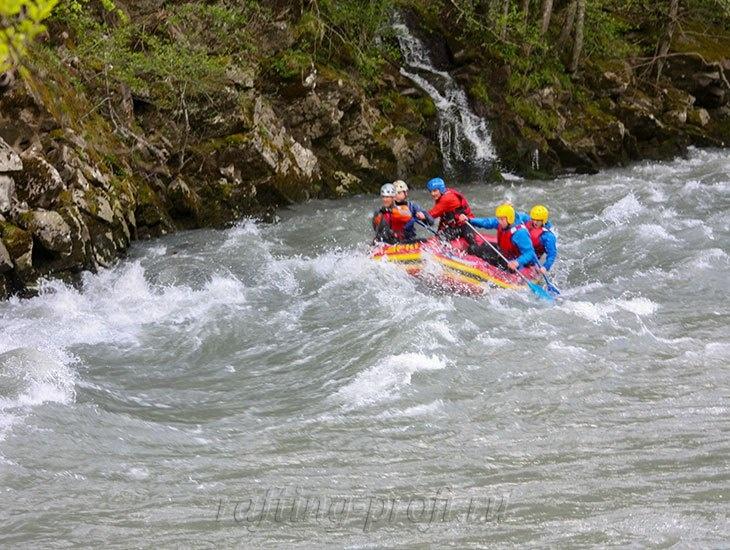 трехдневный рафт-тур по реке Кубань 27