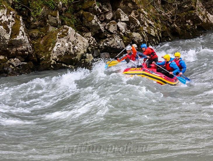 трехдневный рафт-тур по реке Кубань 23