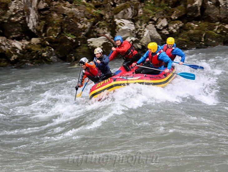 трехдневный рафт-тур по реке Кубань 38