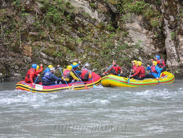 трехдневный рафт-тур по реке Кубань 31
