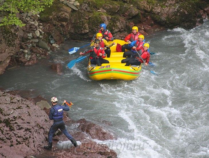 трехдневный рафт-тур по реке Кубань 22