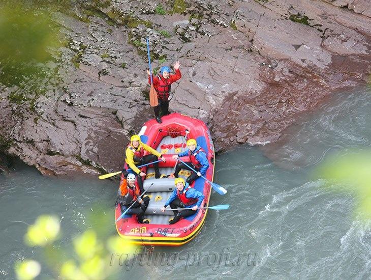 трехдневный рафт-тур по реке Кубань 21