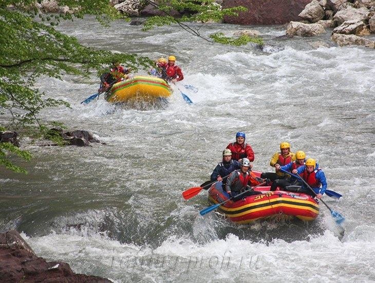 трехдневный рафт-тур по реке Кубань 17