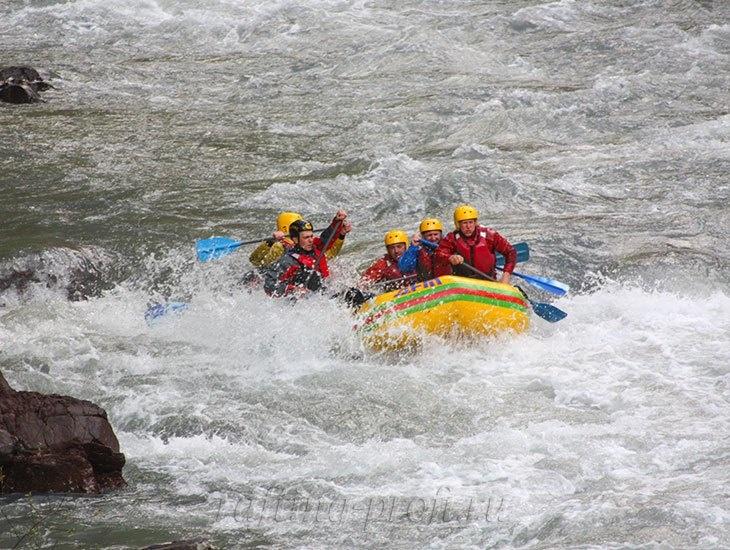 трехдневный рафт-тур по реке Кубань 19