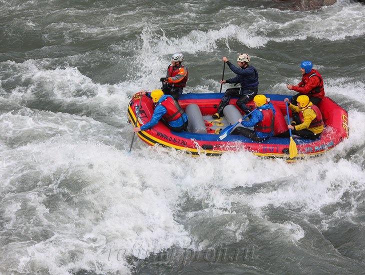 трехдневный рафт-тур по реке Кубань 18