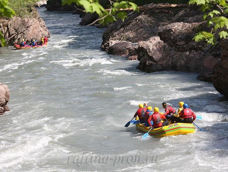 трехдневный рафт-тур по реке Кубань 9