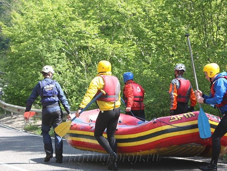 трехдневный рафт-тур по реке Кубань 8