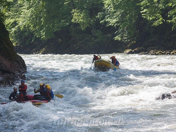 трехдневный рафт-тур по реке Кубань 7