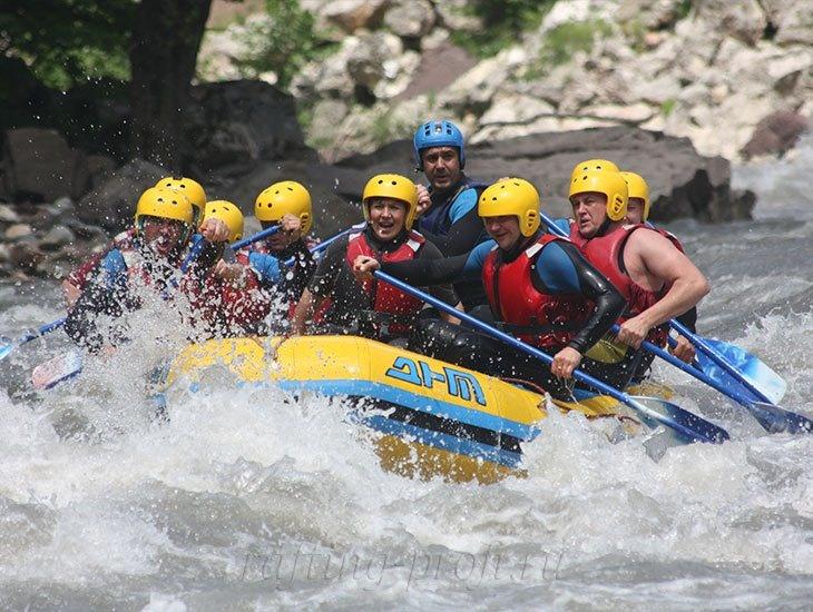 Рафтинг река Белая 17