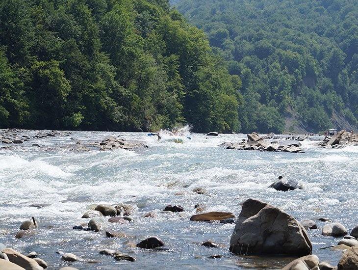 Рафтинг река Белая 15